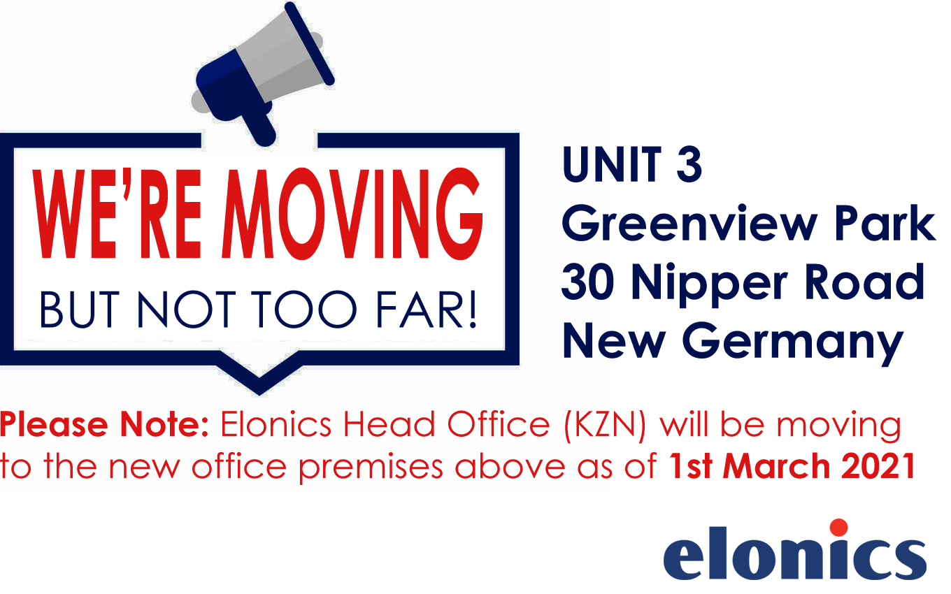 We're Moving - but not too far!